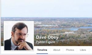 Click to visit Dave Obey's Facebook page and let him know you appreciate his support of education.