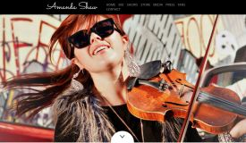 When she was just a kid, the now grown-up Amanda Shaw made me cry. Click the screen shot from her page above to read about her and hear some of her fantastic music.