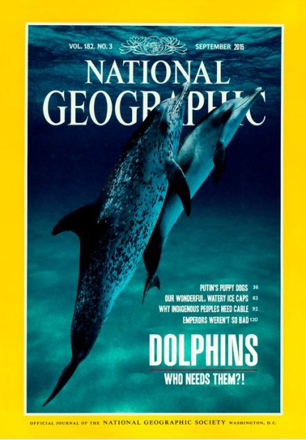 Preposterosity: so many good, fake National Geo covers, so little time.