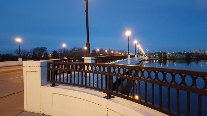 Clark Street Bridge over the Wisconsin River in Stevens Point