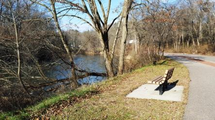 02_benches line the peaceful baraboo
