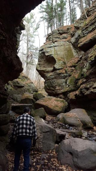 04_Imagination allows mystical creatures to replace floods as the guardian of the gorge at Parfrey's Glen